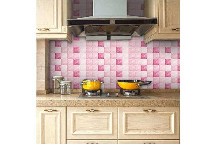 (Msc009) - Pag Creative Home Décor Self-adhesive PVC Sticker Mosaic Design Decals for Living Room Kitchen Bathroom Wall Floor Decorative Decals 20cmx5m (7.87 x 196.85 inches) (MSC009)