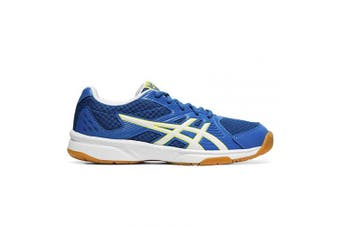 (4.5 UK, Multicolour (Lake Drive/White 405)) - ASICS Women's Upcourt 3 Squash Shoes