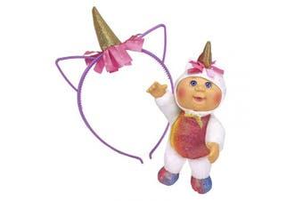 Cabbage Patch Kids Cpk & Me 23cm Sparkle Unicorn Cutie & Accessory
