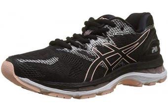 (4 UK, Black (Black/Frosted Rose 001)) - ASICS Women's Gel-Nimbus 20 Running Shoes