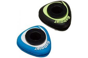 Babolat Unisex's Sonic Damp X2 Vibration Dampener, Blue/Orange, One Size