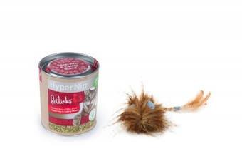 Petlinks Cat Supplies Value Pack: Hypernip Catnip Canister, Hypernip Plush Toy