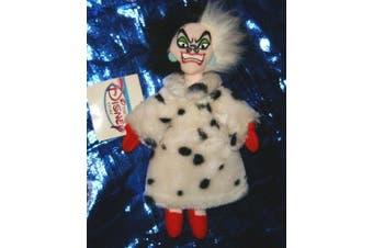 Disney's 101 Dalmations Cruella 20cm Beanie Plush