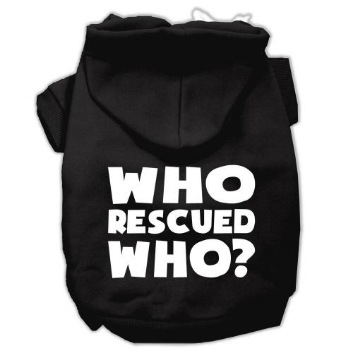 Who Rescued Who Screen Print Pet Hoodies Black Size Med (12) A poly/cotton sleeved hoodie for cold weather days, double stitched in all the right places for comfort and durability!Product Summary : New Pet Products/Screen Print Hoodies/Who Rescued Who Screen Print Pet Hoodies@Pet Apparel/Dog Hoodies/Screen Print Hoodies/Who Rescued Who Screen Print Pet Hoodies@Pet Apparel/Dog Hoodies/Screen Print Hoodies COPY/Who Rescued Who Screen Print Pet Hoodies A poly/cotton sleeved hoodie for cold weather days, double stitched in all the right places for comfort and durability! Product Summary : New Pet Products/Screen Print Hoodies/Who Rescued Who Screen Print Pet Hoodies@Pet Apparel/Dog Hoodies/Screen Print Hoodies/Who Rescued Who Screen Print Pet Hoodies@Pet Apparel/Dog Hoodies/Screen Print Hoodies COPY/Who Rescued Who Screen Print Pet Hoodies