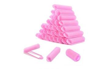 WXJ13 84 Pieces Foam Sponge Hair Rollers Sponge Curl Artefact 1.5cm Mini Roll Wool Curl Curler