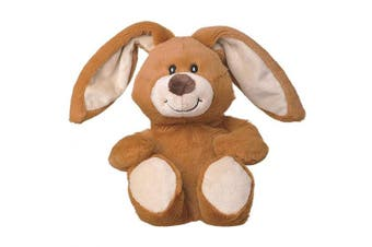 (Rabbit) - Welliebellies Midi Plush Heat Up Toy, Microwaveable Heatable, Pleasant Scent Rosemary Lavender Eucalyptus Peppermint, Heat Cushion for Children Kids, Pain Relief Soothing - Rabbit