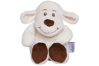 (Sheep) - Welliebellies Midi Plush Heat Up Toy, Microwaveable Heatable, Pleasant Scent Rosemary Lavender Eucalyptus Peppermint, Heat Cushion for Children Kids, Pain Relief Soothing - Sheep