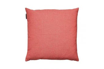 (Coral Red, 50 x 50 cm) - Linum Pepper Cushion Cover, Cotton, Coral Red, 50 x 50 cm
