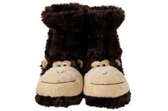 Fun For Feet Slipper Socks Monkey 25cm