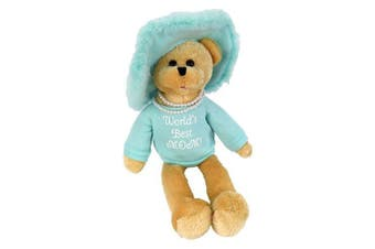 """Chantilly Lane Pearl's Daughter 48cm T-Shirt sings """"That's What Friends Are For"""" (Teal)"""