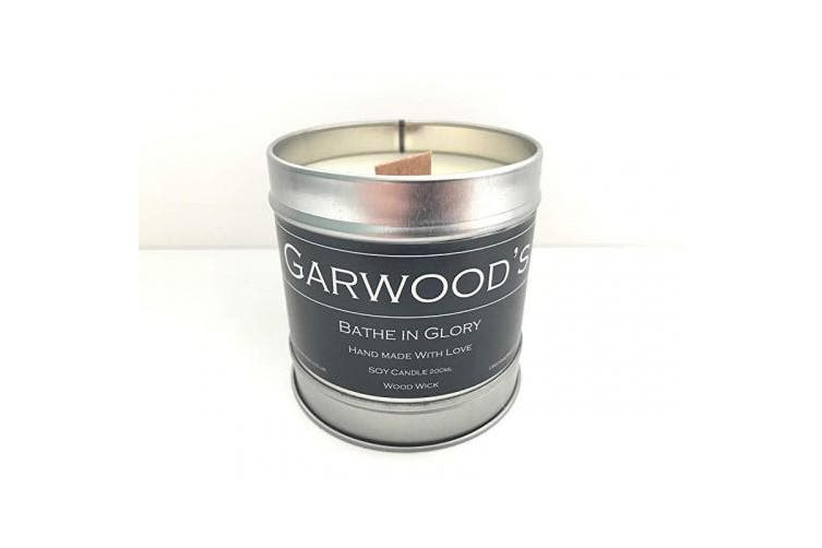 (Lime) - Garwood's Wood wick soy candles (Lime)