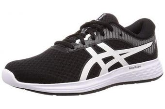 (8.5 UK, Black (Black/White 001)) - ASICS Women's Patriot 11 Running Shoes