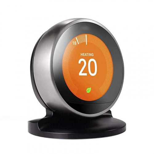 (Black) - Table Bracket Stand for Nest Learning Thermostat, Nest Thermostat 3rd/2nd Generation ONLY by HOLACA (Black) Colour Name: Black Stand enables Nest thermostat 3rd/2nd Generation to kept close at hand for easy access control to your system.
