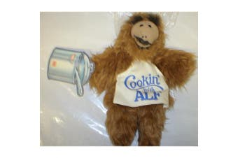 Burger King Vintage Hand Puppet 25cm Alf Cookin' with ALF