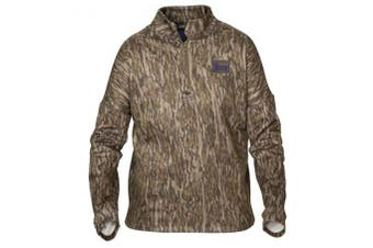 (Large, Bottomland) - Banded Women's Tec Stalker 1/4 Zip, Colour: Bottomland (B2010001-BL)