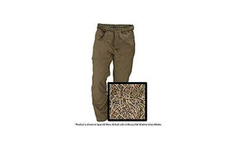 (Large, Blades) - Banded Men's Soft Shell Windproof Wader Pants Polyester