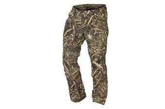 (32, Realtree Max-5) - Banded Men's Soft Shell Windproof Wader Pants Polyester