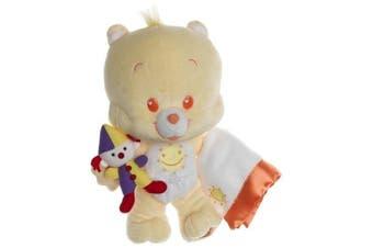 28cm Care Bear Funshine Cub with Blankie and Stuffed Animal