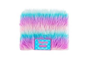 (Fun Fur) - 3C4G Fun Fur Locker Carpet, Iridescent
