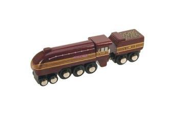 Bigjigs Heritage Collection Duchess of Hamilton Train Engine