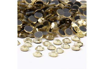 (4mm, Jonquil) - Beadsland Crystal Hotfix Rhinestone,Machine Cut Stone 720pcs/pkg (Jonquil, 4mm)