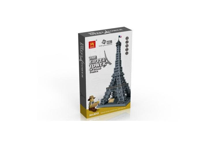 EIFFEL TOWER of PARIS, FRANCE - BUILDING BLOCKS 978 pcs set for LEGO lowers