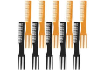 10 Pieces Lift Teasing Hair Comb with Pick Lifting Parting Combs Pintail Comb for Women