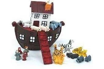 Dolls House Nursery Toy Accessory Noah's Ark & Animals