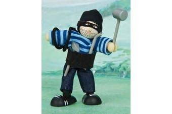 Budkins Robin The Robber Figure