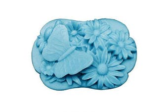 (butterfly 6) - GreatMold 3D Butterfly DIY Soap Mould Flower Decorative Craft Mould Silicone Moulds for Soap
