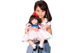 Adora Baby Doll 50cm Classic Snow White (Dark Brown Hair/Brown Eyes)