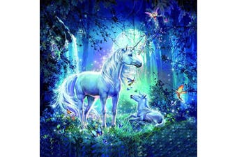 (30*30, Unicorn) - Diamond Painting Kits for Adults Kids, 5D DIY Unicorn Diamond Art Accessories with Round Full Drill Dotz for Home Wall Decor - 11.8×30cm