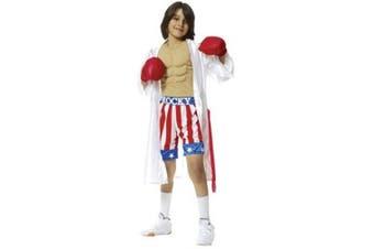 Child's Rocky Balboa Costume (Size:Small 4-6)