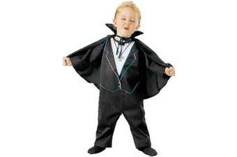 Child's Toddler Dracula Halloween Costume (2-4T)
