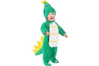Child's Toddler Green Dragon Costume (Size 4T)