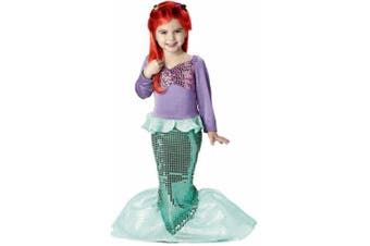 Child's Toddler Mermaid Halloween Costume (3-4T)