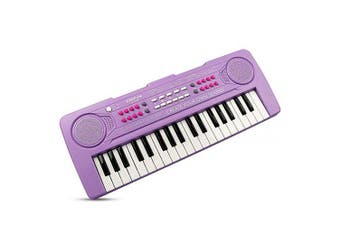 (Purple) - AIMEDYOU 37 Keys Kids Piano Keyboard Portable Electronic Musical Instrument Multi-Function Music Keyboard Early Learning Educational Toy Birthday Xmas Day Gifts for Kids (Purple)