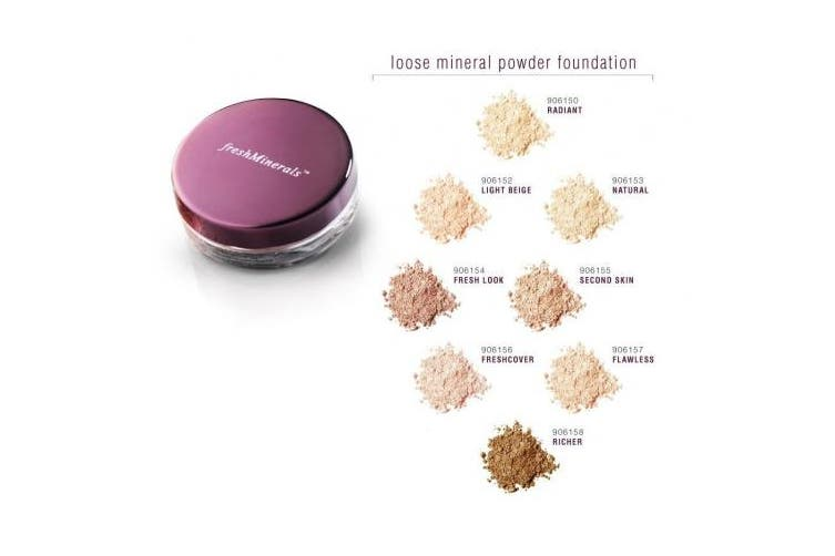 (Freshcover) - freshMinerals Mineral Loose Powder Foundation, Freshcover, 2 Gramme