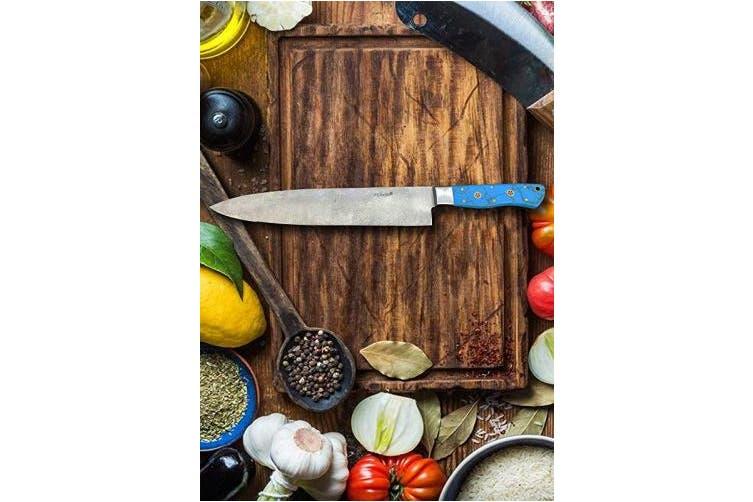 Perkin - Damascus Chef Knife Damascus Knife Handmade Knife Kitchen Knife