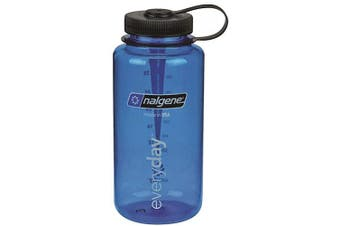 (1 L, Blue) - Nalgene Camping & Outdoor's 950ml Wm Water Bottle