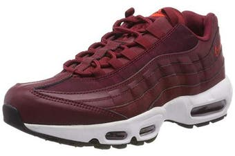 (3.5 UK, Red (Team Red/Team Red/Black/Habanero Red 605)) - Nike Women's WMNS Air Max 95 Gymnastics Shoes