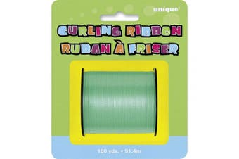 (100 Yards, Emerald) - Unique Party Curling Ribbon Roll (100 Yards) (100 Yards) (Emerald)