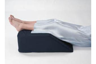 (burgundy) - Leg/Bed Wedge with High Quality, Removable Cover (Size: 20cm X 50cm X 60cm . Colour: Navy) (Burgundy)