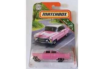 Matchbox 2019 MBX Road Trip 15/20 - '55 Fleetwood [Pink]