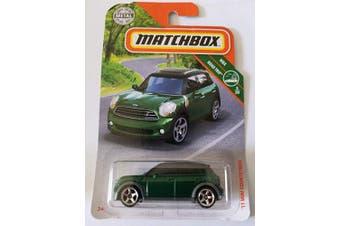 Matchbox 2019 MBX Road Trip 5/20: '11 Mini Countryman (Green)