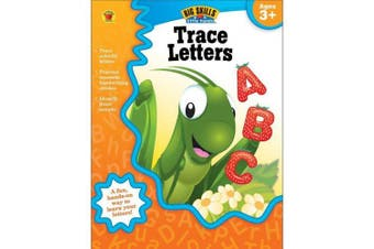 Trace Letters Activity Book, Ages 3+ (Big Skills for Little Hands)