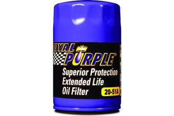 Royal Purple Extended Life Oil Filter 20-51A, Engine Oil Filter for Buick, Cadillac, Checker Cab, Chevrolet, GMC, Hummer, Isuzu, Oldsmobile and Pontiac