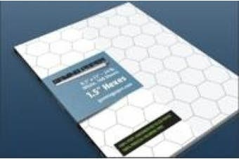 Gaming Paper 3.8cm . Hex Singles