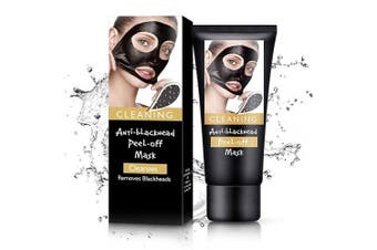 Blackhead Remover Mask, Black Mask Charcoal Face Mask For Face with Acne, Oily Skin and Blackheads, Peel Off Mask With Organic Activated Charcoal(60Gram) (2)