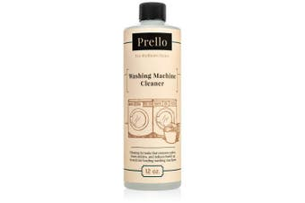 Prello Washing Machine Cleaner   Cleans and Sanitises Interior of High Efficiency Front Loading Washers - 350ml Bottle